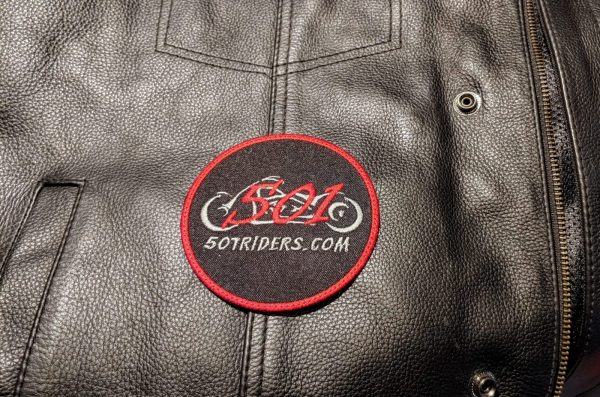 501 Riders Circle Vest Patch