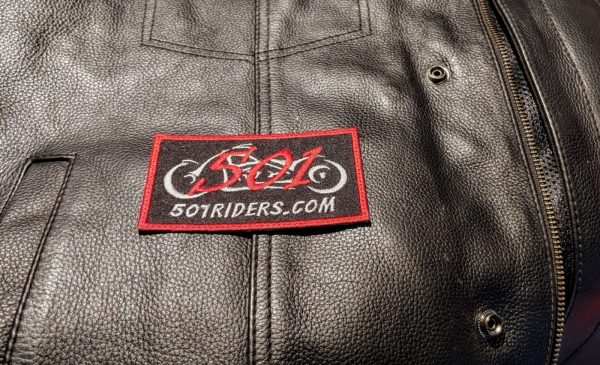 501 Riders Rectangle Vest Patch